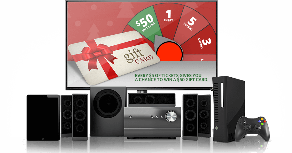 Tech the Halls - Happy Holidays - Winning and non-winning holiday tickets are eligible. Contest ends on January 22, 2016